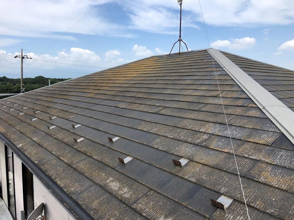 屋根塗装(施工前)